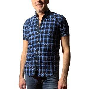Haight & Ashbury Men's Button-Down Shirt Size 3/M